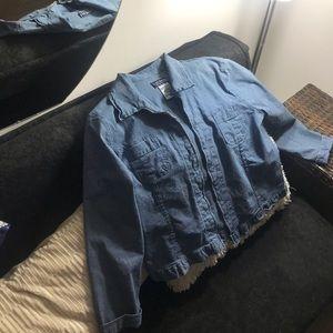 Vintage zip up